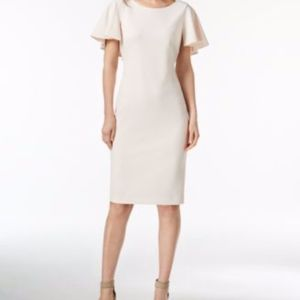 Calvin Klein Cape Sleeve